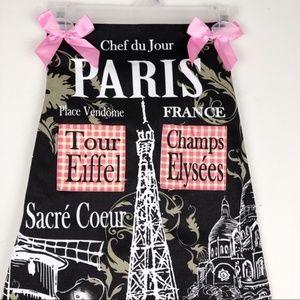 Kitchen - Paris Apron with Eiffel Tower Theme